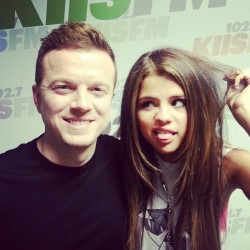 selgomez-news:  jojowright: Yup, that's me & @selenagomez. (I'm the one on the left)