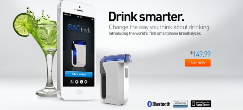 The World's First Smartphone Breathalyzer