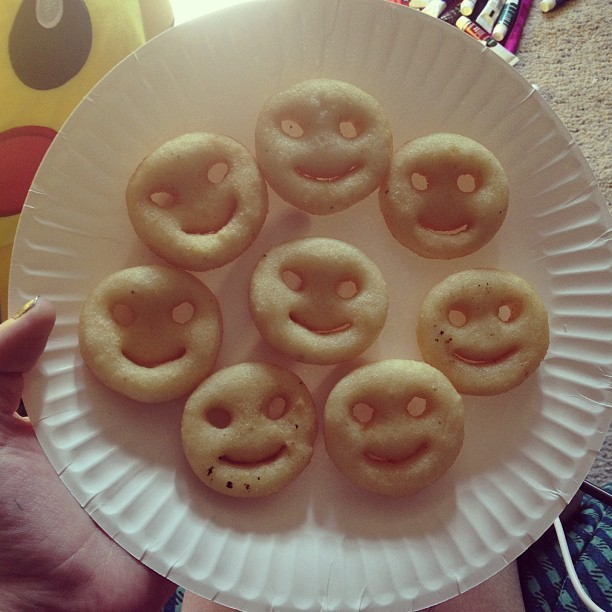 Who needs boys to smile at you when food can do the same thing? #smilefries #food #relationship