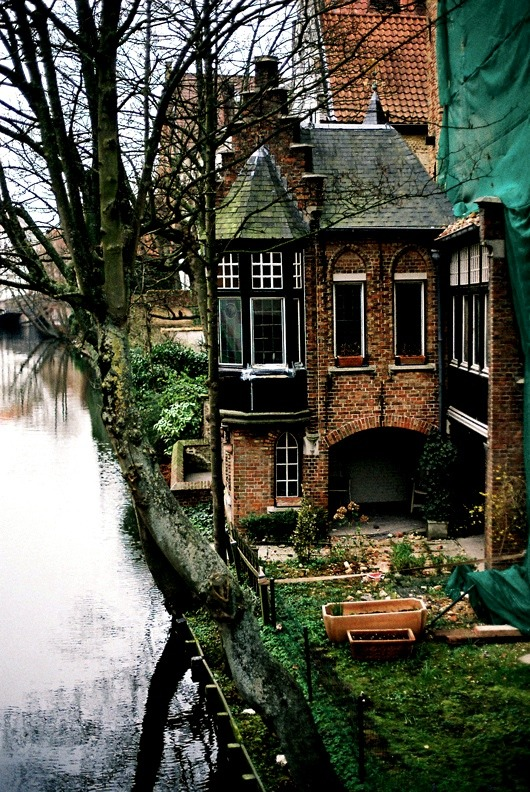 | ♕ |  Flemish brick house - Bruges | by ©*Imogen
