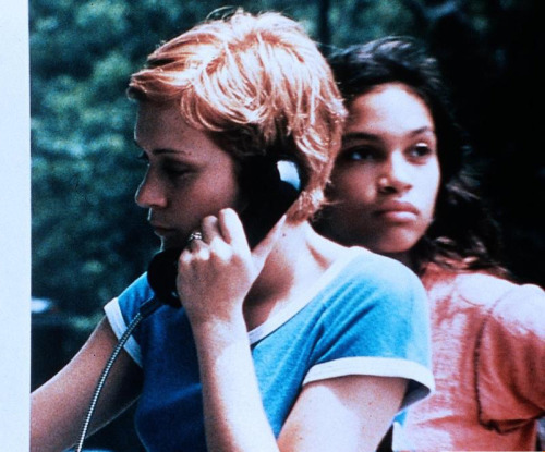 suicideblonde:  Chloe Sevigny and Rosario Dawson in Kids (1995)