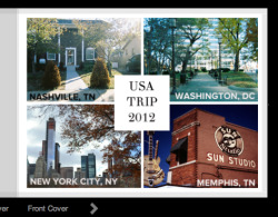 jessicabeth:  A while ago I started making my 'USA Trip' photo book online. I had to put it on hold due to assignments, but now that I am done I can make some time. I am about half way through. It is nice looking over all the memories. I can't wait until Hannah and I get our books printed… yay!