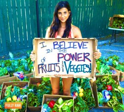 rawlivingfoods:  I believe! Do you? ♥