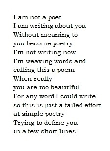 Failed Poet
