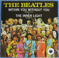 "The Beatles ""Within You, Without You"" Compact 33 1/3 EP - Apple Records, Mexico (1968)."