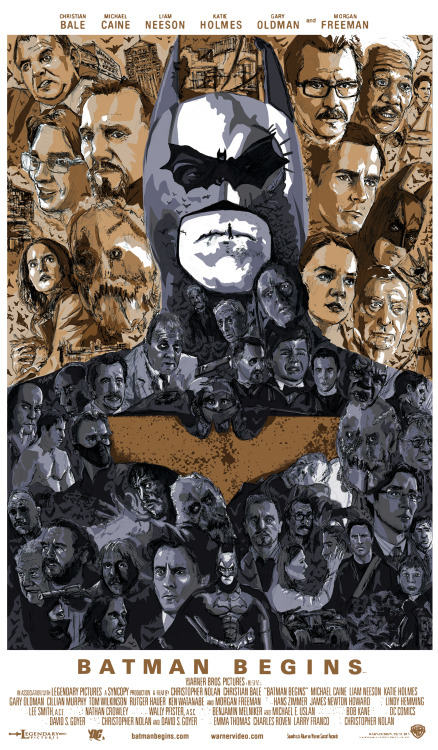 Batman Begins by Matthew Brazier