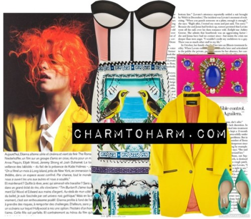 Opulence | CHARMTOHARM.com by adelinasgray featuring colorful skirts