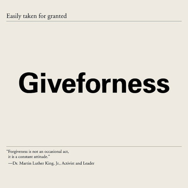 nevver:  Giveforness