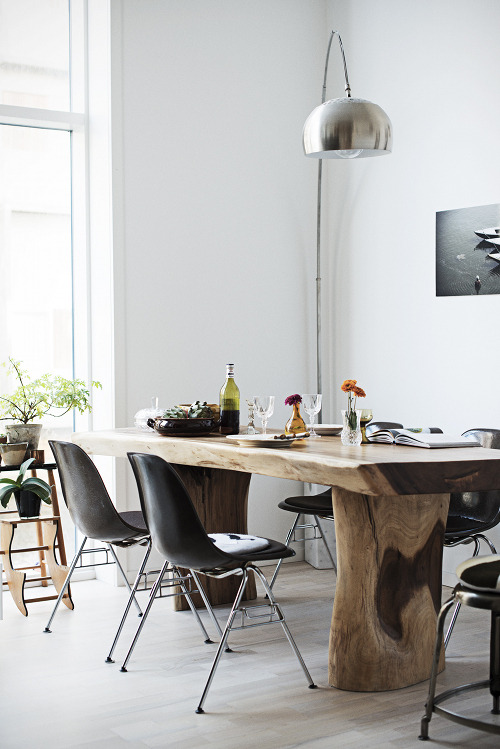 justthedesign:  Copenhagen Dining Room