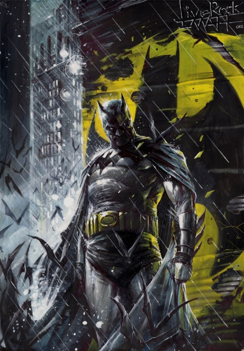 redcell6:  Batman by Francesco Mattina