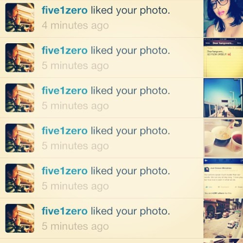 How do I know @five1zero loves me? Cus the proof is in the LIKES Lolol 😂 I love u baby ❤ thanks my littlo legs 💋