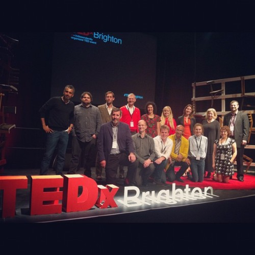 "Event of the Week: TEDx Brighton  Photo by @gremkoska, via Instagram. The Event of the Week is TEDx Brighton, a one-day conference at the Brighton Dome – Corn Exchange. The theme was ""The Generation Gap"" and speakers represented a range of backgrounds, interests, disciplines and perspectives. Talks challenged generational perceptions and tackled questions such as where does the generation gap lie and does it even exist? While waiting for the videos to be uploaded to TED, check out the photos on sharypic to see a banana piano, a silhouette drawing machine, and toy hacking, amongst many other things! Will you be our next Event of the Week and win a Large Event plan? This would mean access to awesome features such as a live photowall at your event! Simply post your sharypic event on our Facebook page to be in with a chance!"