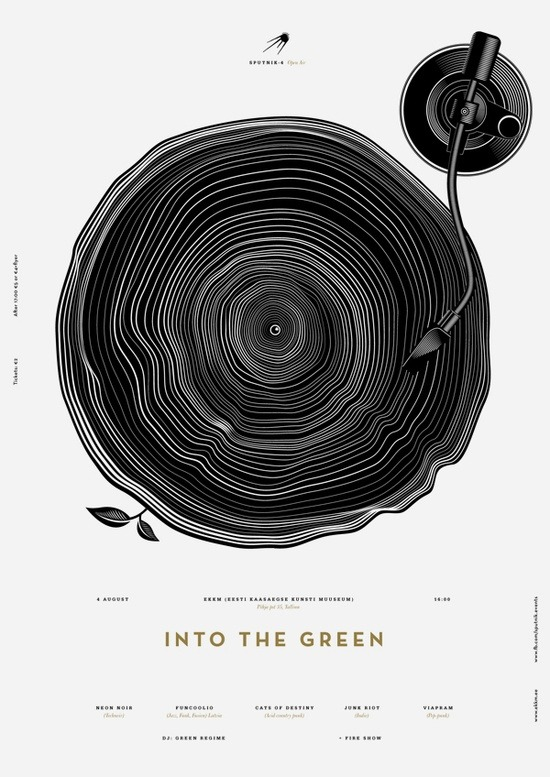 huemordesigns:  Into The Green by Anton Burmistrov