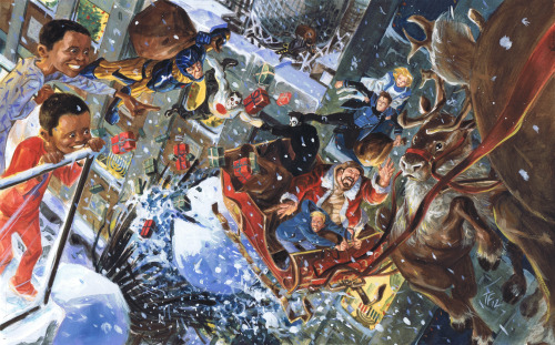 valiant entertainment's 2012 holiday card. from BLARG!