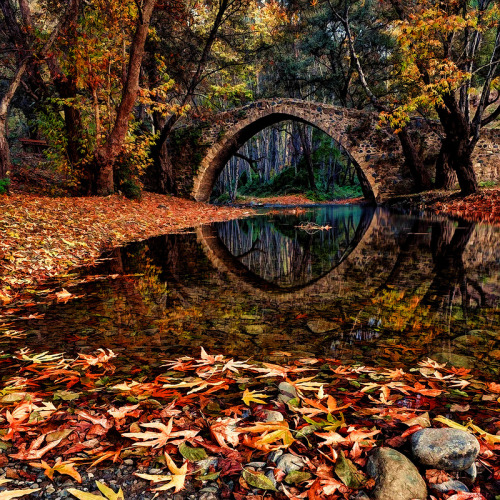sayoneword:  Kefalos Bridge by John Kotsovos