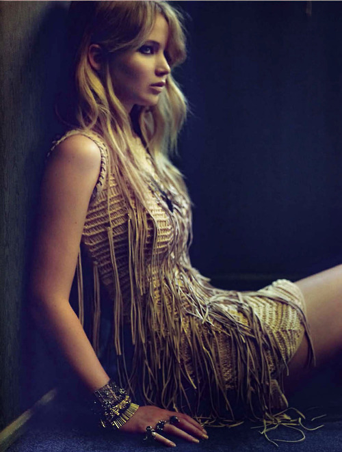 bohemea:  Jennifer Lawrence - Vogue Italia by Mark Seliger, December 2012