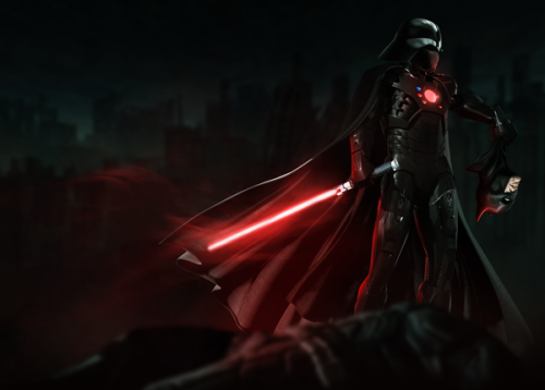 Darth Vader - Iron Man Mashup Created by Kode Logic Website ll DeviantArt ll Tumblr