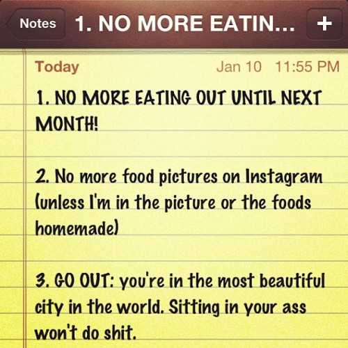 Late New Years resolutions. #myfatrollstoldmeto #mywalletagreed #personalmaintenance (at Angleside)