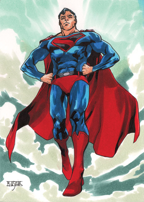 Kingdom Come Superman - DC Comics Superman: The Legend Base Card