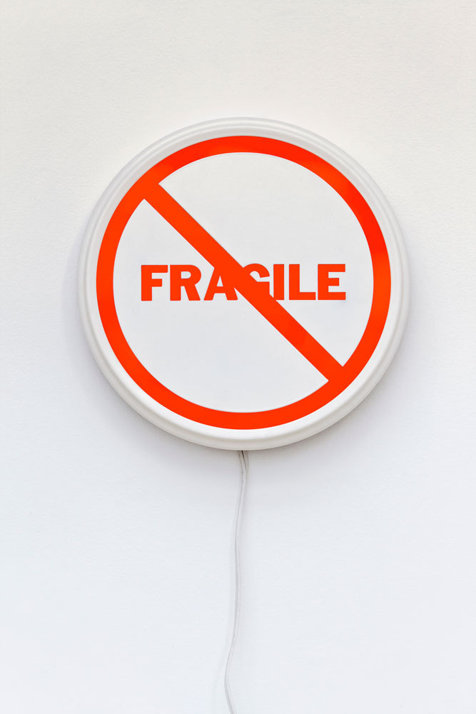 "visual-poetry:  ""not fragile"" by kelly mark (+)"