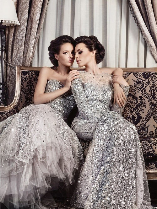 I would enjoy one or both of these gowns!
