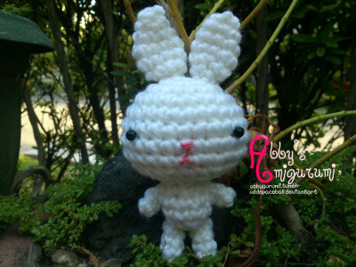 Bunny pattern will be posted soon.