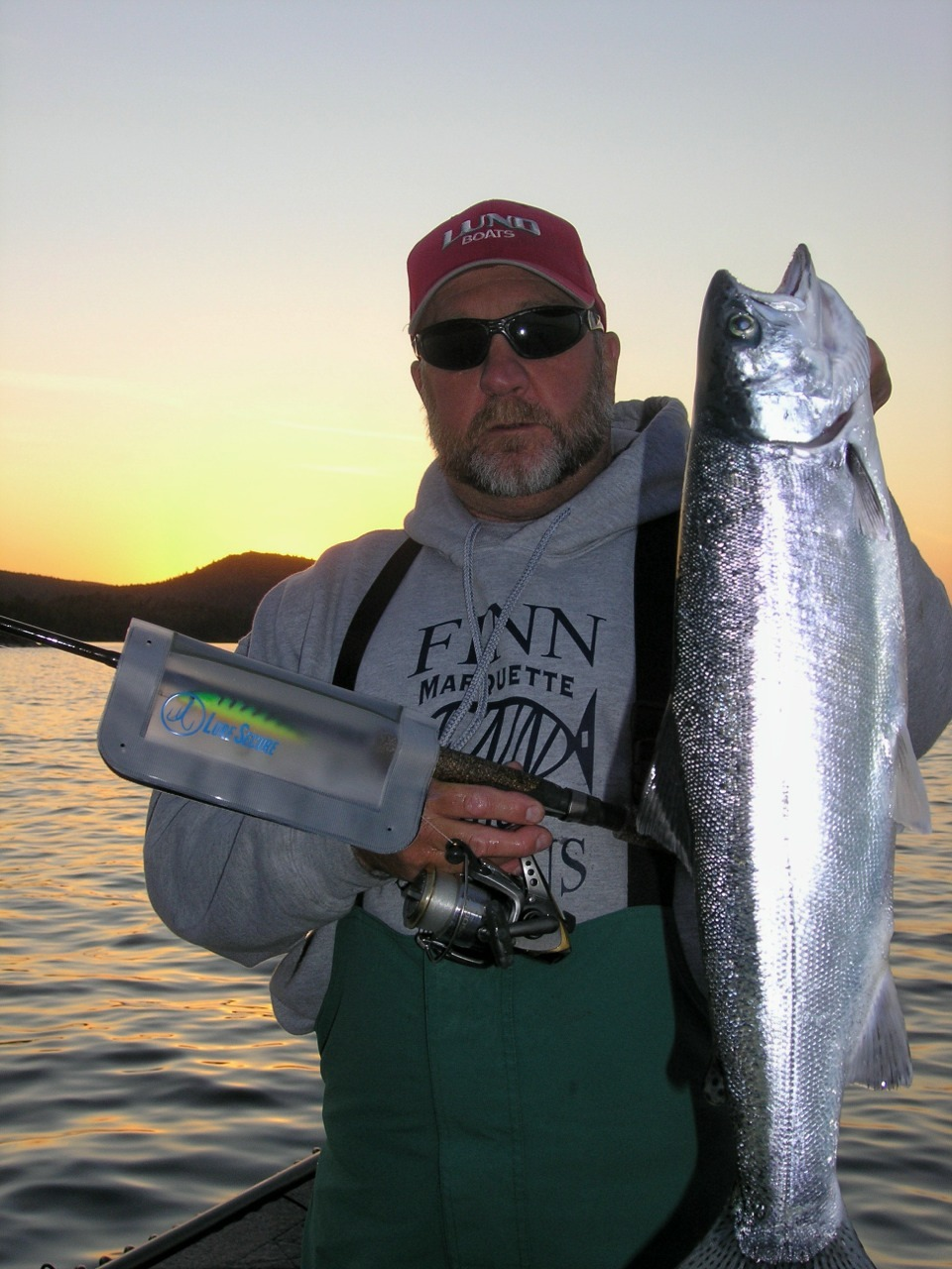 Lake Superior Guide and Captain Larry Smith is a LureSecure believer!