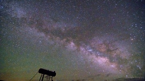 "brianacker:  Brian Acker Photography ""Milky Way Water Tower"" New Mexico May 2013 Nikon DSLR"
