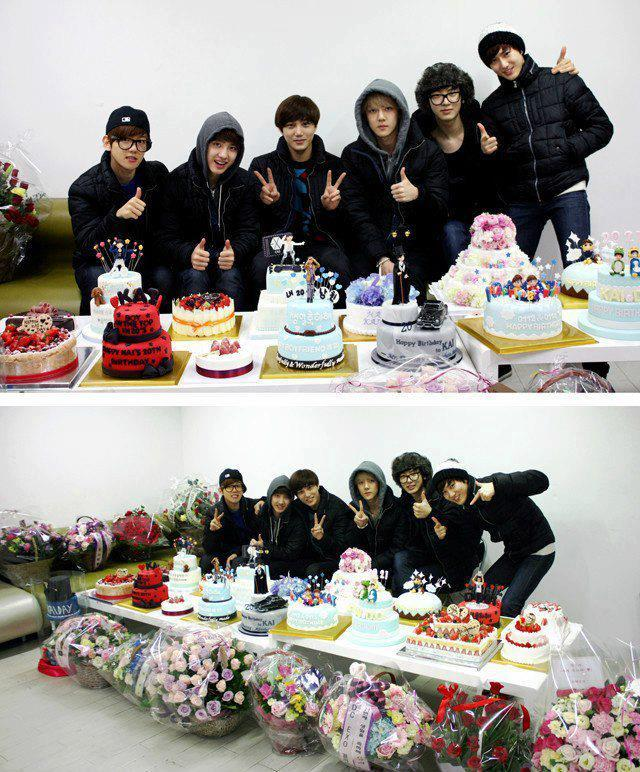 Kai's Birthday Bash!! Cakes everywhereeee! <3