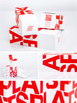 "welovemoulesfrites:  Packaging for Michael Descamps new product called ""Plats Plats"". AD : Julien Borean / WLMF Pictures : N&B photography"