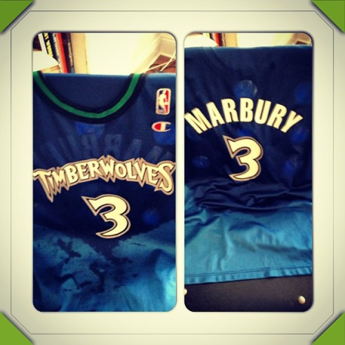 Today's workout gear #Starbury #JerseyGame