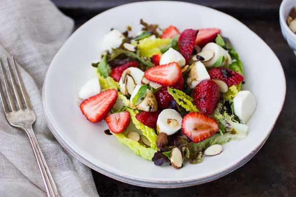 Strawberry Caprese Salad