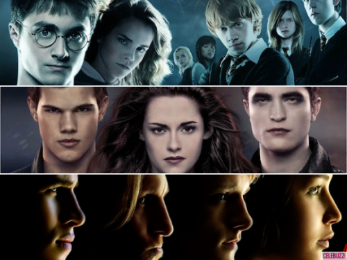 Which adapted film series is your favorite? Twi-hards, Potterheads, and Tributes: VOTE NOW!