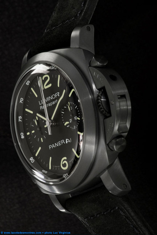 acuratedman:  Panerai Luminor Ratrapante