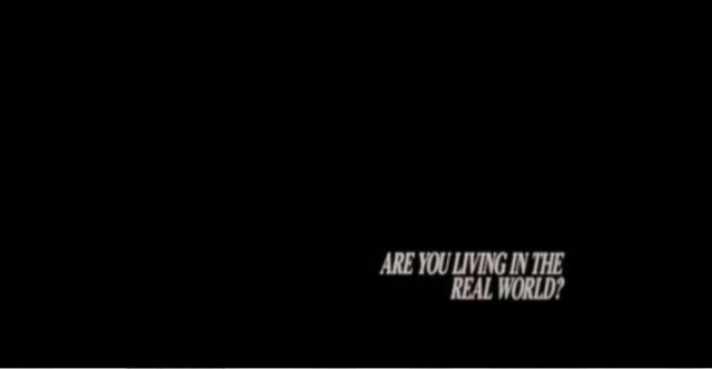 are you living real world?