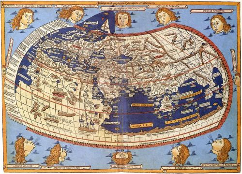 Ptolemy's classical second-century map of the world, which sparked our modern obsession with maps