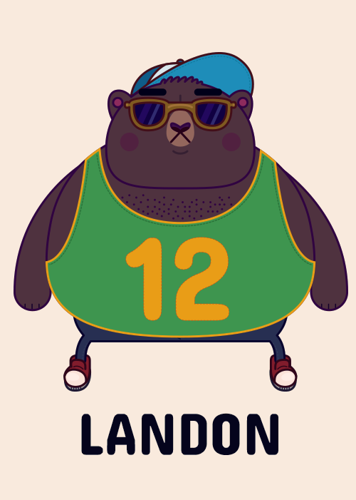Landon the Bear