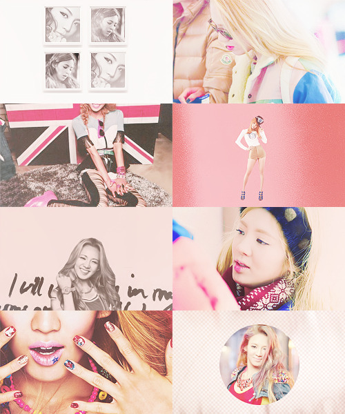 ❝ hyoyeon in pink △ requested by ppinochio ❞