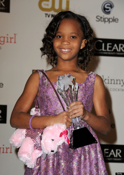 "Quvenzhané Wallis, age 9, has been nominated for an Oscar. (I could get nominated without even trying if I had time to let Mr. Spielberg film the movie he wants to make.) She is planning her Oscar ensemble and said it might be pink and won't be floor-length.     ""I might step on it and trip on it. And I don't want to humiliate myself!""    I can follow the logic here, but wearing anything but a ball gown to the Oscars is out of the question, even if you are nine. If you can learn how to work the Academy voters, you can learn how to walk in a dress without tripping. Also, please, for the love of everything, do not bring a puppy purse to the Academy Awards."
