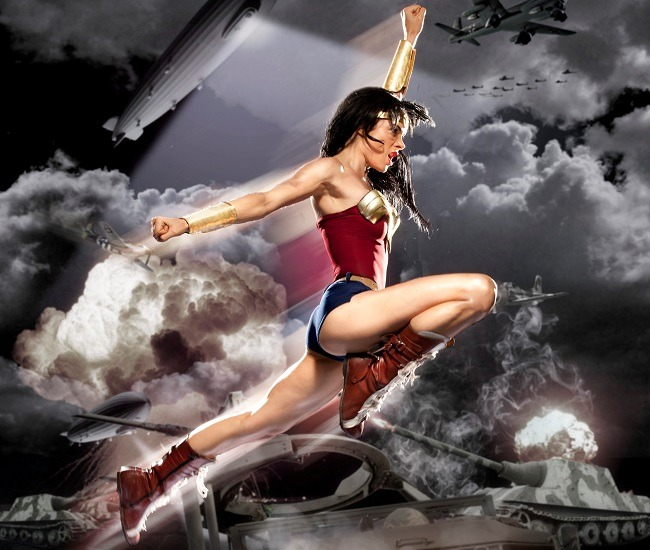 Watch This Bad-ass Fan-made Wonder Woman Trailer How is it that the Wonder Woman TV show doesn't get picked up because the pilot was so terrible, but then fans make awesome ish like this?  Female Super Hero Fan Film from Jesse V. Johnson on Vimeo.