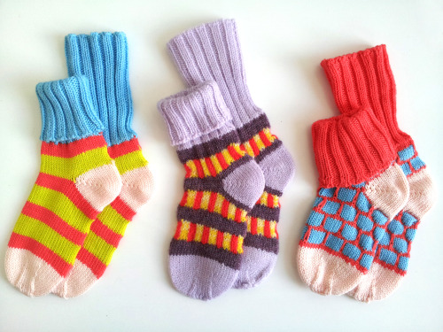super colorful babyDEGEN sockies make a great gift and fit ages 6-24 months
