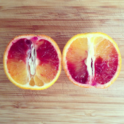 melanie-is-healthy:  Beautiful blood orange