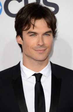 2013 PEOPLE'S CHOICE AWARDS - IAN SOMERHALDER  2013 has sure kicked off with a fabulous start in Hollywood, with the 2013 People's Choice Awards taking place today. The hottest stars in tinsel town attended the event at the Nokia Theatre in Los Angeles and we assure you that there was plenty to see when it came to the hot frocks and shocks in the fashion stakes! Here are the hottest red carpet photos for YOUR viewing pleasure! Image Source: Just Jared