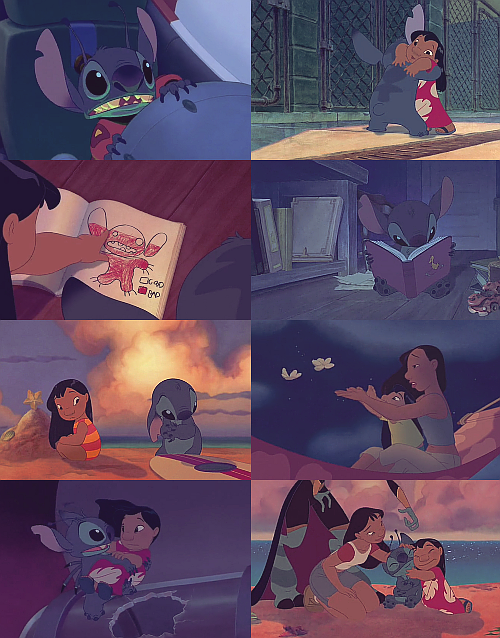 "bethesda-kittens:  favourite movies of all time → lilo and stitch [2002]  ""Our family's little now, and we don't have many toys… but if you want, you could be a part of it. You could be our baby, and we'd raise you to be good."""