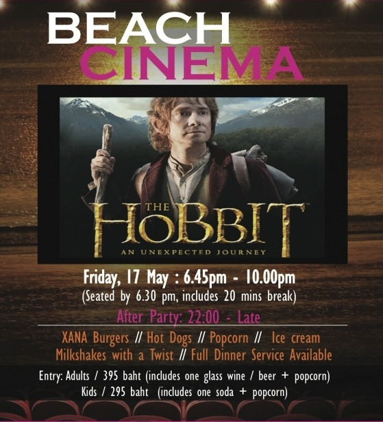 Beach Cinema @ XANA this FridayXANA Beach Cinema The Hobbit: An Unexpected Journey We are pleased to let you know that this Friday…View Post