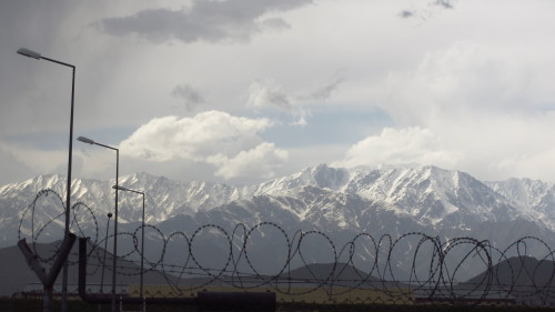 a view in Kabul, Afghanistan