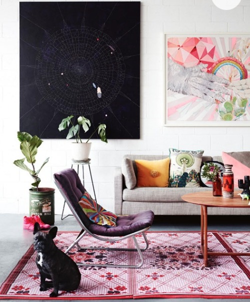 I love everything about Kirra Jamison's studio. More here