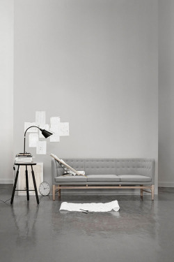 """Mayor Sofa"" by Arne Jacobsen for &tradition"