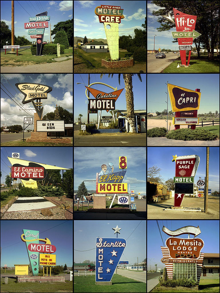 Steve Fitch - Motel Signs #1