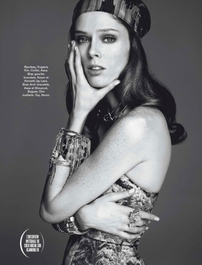 Coco Rocha for Glamour [France, April 2013]